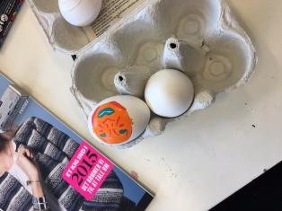 Æg til Emmas zine