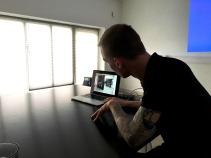 Asbjørn Skou fortæller om eget arbejde