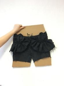 Maj-Britts shorts i process