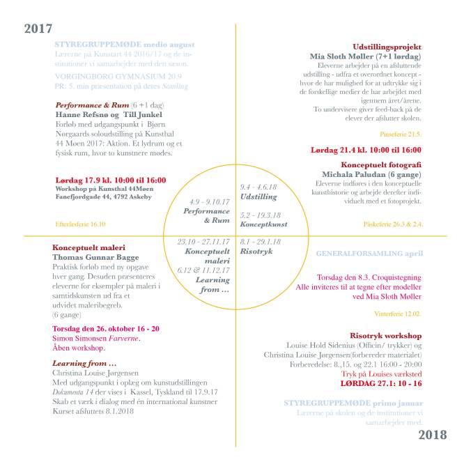 KUNSTART44 Program 2017_18